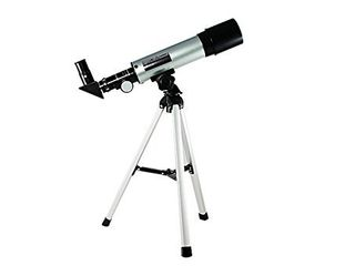 Telescope for Kids and lunar Beginners  90x Refractor  360mm Focal length  Kids Telescope for Exploring The Moon and Its Craters  Portable Telescope for Children and Beginners