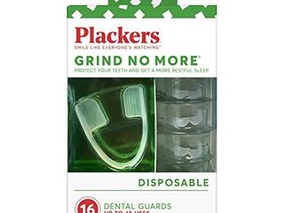 Plackers Grind No More Dental Night Guard for Teeth Grinding  16 Count