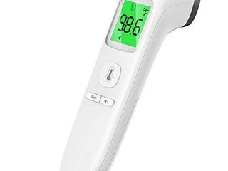 Touchless Thermometer for Adults  Forehead Thermometer with Fever Alarm and Memory Function  Ideal for Babies  Infants  Children  Adults  Indoor  and Outdoor Use