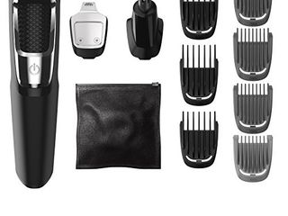 Philips Norelco MG3750 Multigroom All In One Series 3000  13 attachment trimmer