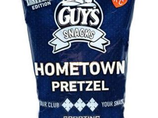 lot of 5   Guys Snacks   Hometown Pretzel   Tasty Mix Edition   Exp  Date   09 30 20