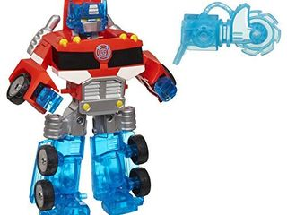 Playskool Heroes Transformers Rescue Bots Energize Optimus Prime Action Figure  Ages 3 7  Amazon Exclusive