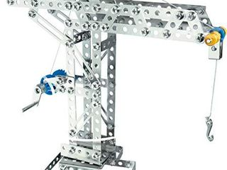 Eitech Crane and Windmill Construction Set and Educational Toy   Intro to Engineering and STEM learning  Steel  10005 C05