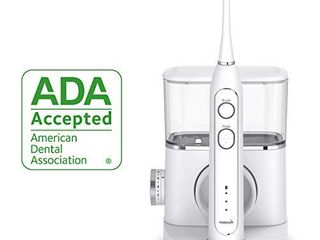Waterpik Sonic Fusion Professional Flossing  Electric Toothbrush   Water Flosser Combo in One  SF 02  White