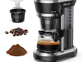 Sboly Grind And Brew Coffee Machine