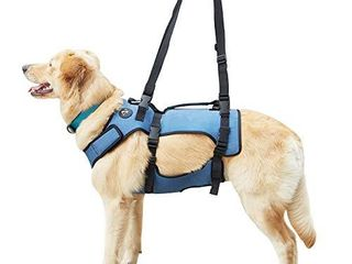 Coodeo Dog lift Harness  Support   Recovery Sling  Pet Rehabilitation lifts Vest Adjustable Breathable Straps for Old  Disabled  Joint Injuries  Arthritis  Paralysis Dogs Walk  Medium