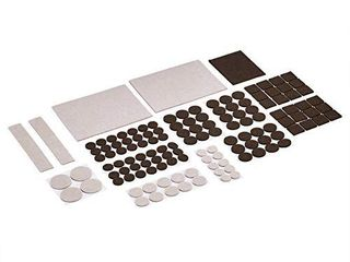 Felt Furniture Pads  Beige and Brown  133 pcs