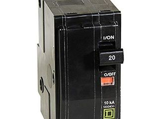 Square D by Schneider Electric QO220CP QO 20Amp Two Pole Circuit Breaker