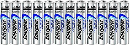 Energizer Ultimate lithium AAA l92 Size Batteries   12 Pack