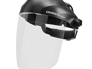lincoln Electric OMNIShield Professional Face Shield   Anti Fog Coated Clear lens   Premium Headgear   K3751 1