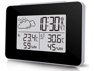 Wireless Weather Station With Backlight