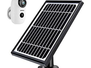 ZUMIMAll Solar Panel for Outdoor Security Camera A3 A3P  Waterproof Solar Panel with 10ft Charging Cable   No Camera