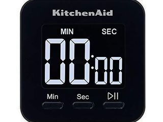 KitchenAid Single Event Digital Timer  2 5 inches  Black