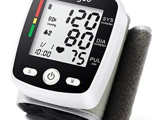 Blood Pressure Monitor BP Monitor Irregular Heart Beat Detection Cuff Automatic with large Display Screen Support Charging Supply for Home Use
