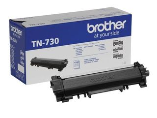 Brother Genuine Standard Yield Toner Cartridge  TN730  Replacement Black Toner  Page Yield Up To 1 200 Pages