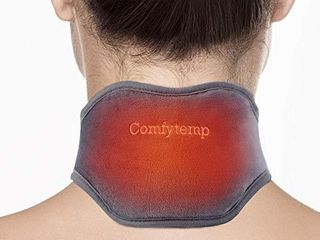 Neck Heating Pad  Comfytemp USB Heated Neck Wrap for Pain Relief  Auto Shut Off  3 Adjustable Temperature  Electric Thermal Hot Compress Neck Brace  Heat Therapy for Soreness   Stiffness Relief