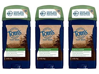 Tom s of Maine Antiperspirant Deodorant for Men  North Woods  2 8 oz  3 Pack