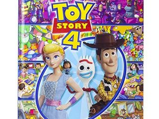 Disney Pixar Toy Story 4 Woody  Buzz lightyear  Bo Peep  and More    look and Find Activity Book   PI Kids