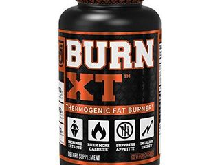 Burn XT Thermogenic Fat Burner   Weight loss Supplement  Appetite Suppressant    Energy Booster   Premium Fat Burning Acetyl l Carnitine  Green Tea Extract    More   60 Natural Veggie Diet Pills
