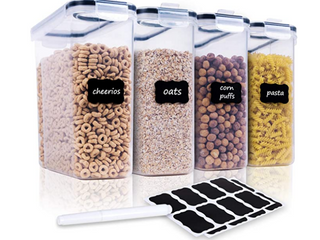 Cereal Storage Container Set