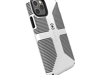 Speck CandyShell Grip iPhone 11 Pro Case  White Black  128835 1909