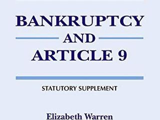 Bankruptcy   Article 9  2020 Statutory Supplement  Supplements