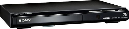 Sony   DVD Player with HD Upconversion   Black