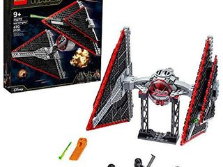 lEGO Star Wars Sith TIE Fighter 75272 Collectible Building Kit  Cool Construction Toy for Kids  New 2020  470 Pieces