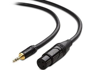 Cable Matters  1 8 Inch  Unbalanced 3 5mm to XlR Cable  XlR to 3 5mm Cable  Male to Female 6 Feet
