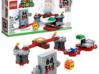 lEGO Super Mario Whomp s lava Trouble Expansion Set 71364 Building Kit  Toy for Kids to Enhance Their Super Mario Adventures with Mario Starter Course  71360  New 2020  133 Pieces