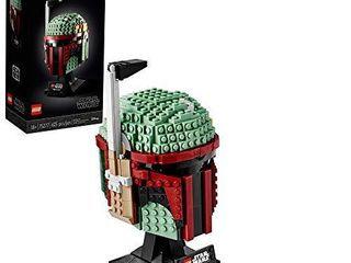 lEGO Star Wars Boba Fett Helmet 75277 Building Kit  Cool  Collectible Star Wars Character Building Set  New 2020  625 Pieces