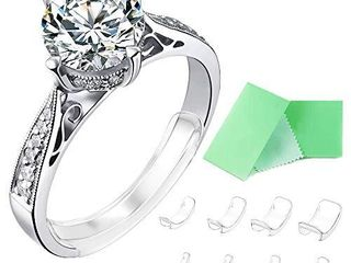 Invisible Ring Size Adjuster for loose Rings Ring Adjuster Fit Any Rings  Assorted Sizes of Ring Sizer