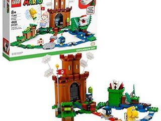 lEGO Super Mario Guarded Fortress Expansion Set 71362 Building Kit  Collectible Playset to Combine with The Super Mario Adventures with Mario Starter Course  71360  Set  New 2020  468 Pieces