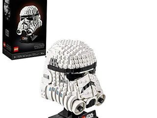 lEGO Star Wars Stormtrooper Helmet 75276 Building Kit  Cool Star Wars Collectible for Adults  New 2020  647 Pieces