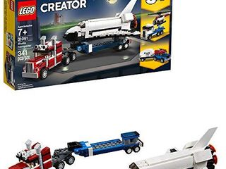 lEGO Creator 3in1 Shuttle Transporter 31091 Building Kit  341 Pieces