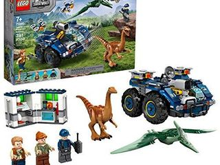 lEGO Jurassic World Gallimimus and Pteranodon Breakout 75940  Dinosaur Building Kit for Kids  Featuring Owen Grady  Claire Dearing and ACU Trooper Minifigures for Creative Play  New 2020  391 Pieces