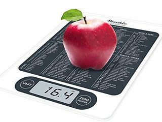 Mackie C19 Premium Food Scale  Digital Kitchen Scale Simple 1g   0 1 oz Accurate for Cooking Baking Meal Prep Diet Health an American Co