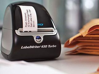 DYMO label Printer   labelWriter 450 Direct Thermal label Printer  Great for labeling  Filing  Mailing  Barcodes and More  Home   Office Organization