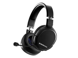SteelSeries Arctis 1 Wireless Gaming Headset for Playstation USB C Wireless Detachable ClearCast Microphone for PS5  PS4  PC  Nintendo Switch  Android Black