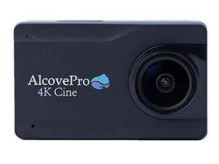 AlcovePro 4K Cine Waterproof Action Camera UHD Video and 12MP Photos   Slow Motion WiFi Sports Cam with Huge 2 45 Inch Touchscreen and Accessories