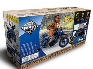 Huffy 6V Motorcycle  Med Blue