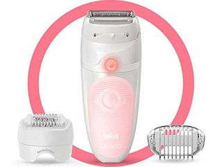 Braun Epilator Silk Acpil 5 5 620  Hair Removal for Women  Shaver   Trimmer  Cordless  Rechargeable  Wet   Dry