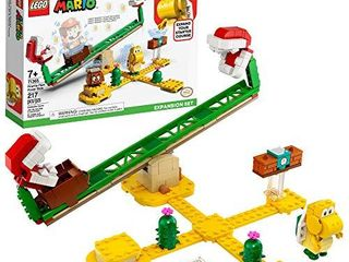 lEGO Super Mario Piranha Plant Power Slide Expansion Set 71365  Building Kit for Kids to Combine with The Super Mario Adventures with Mario Starter Course  71360  Playset  New 2020  217 Pieces