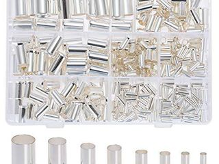 RockDIG 300Pcs 12 10 8 6 4 2 1 0 2 0 Wire Ferrule Tinned Copper Crimp Connector Electrical Cable Pin Cord End Terminal 8 Sizes Assortment Kit