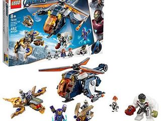 lEGO Marvel Avengers Hulk Helicopter Rescue 76144 Building Kit  482 Pieces Multi