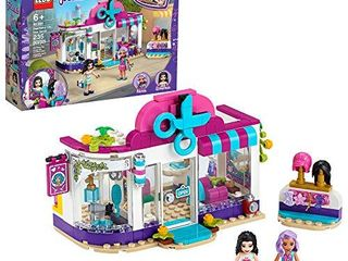 lEGO Friends Heartlake City Play Hair Salon Fun Toy 41391 Building Kit  Featuring lEGO Friends Character Emma  New 2020  235 Pieces