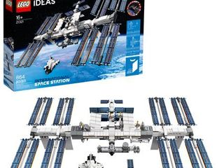 lEGO Ideas International Space Station 21321 Building Kit  Adult lEGO Set for Display  864 Pieces