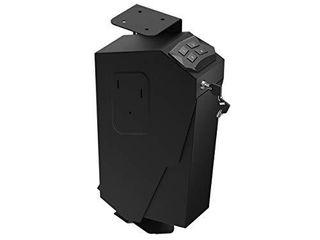 RPNB Mounted Firearm Gun Safe with Auto Open lid 4 Digit PIN Keypad lock Handgun Safe