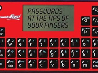 passwordsFAST Compact Offline Password Keeper  Encrypted