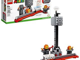 lEGO Super Mario Thwomp Drop Expansion Set 71376 Exclusive Building Kit  Collectible Playset for Kids to Add New levels to Their lEGO Super Mario Starter Course  71360  Set  New 2020  393 Pieces